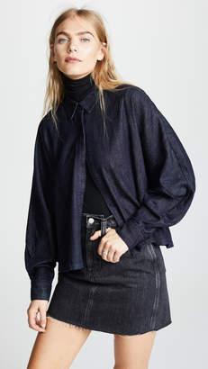 AG Jeans Acoustic Dolman Button Up