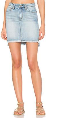 Joe's Jeans High Low Denim Skirt $168 thestylecure.com