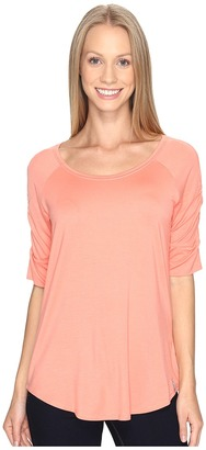 Columbia - Lumianation Elbow Sleeve Shirt Women's Short Sleeve Pullover $45 thestylecure.com