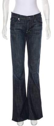 Rock & Republic Mid-Rise Wide-Leg Jeans