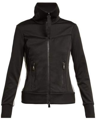 Moncler Technical Zip Through Track Jacket - Womens - Black