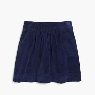 J.Crew Girls' corduroy skirt