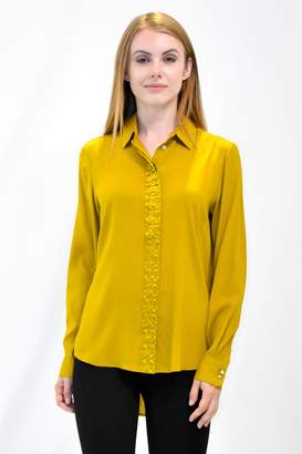 Max Volmary Origami Silk Blouse