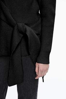 3.1 Phillip Lim Draped Tie-Front Pullover