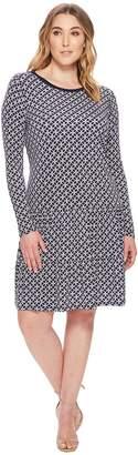 MICHAEL Michael Kors Size Rope Geo T-Shirt Dress Women's Dress