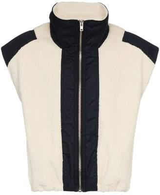GmbH x Browns Mathis Wing Collar Gilet Jacket