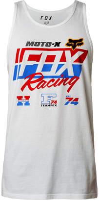 Fox Men's First Placed Logo-Print Tank