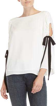 Vince Camuto Cold Shoulder Blouse