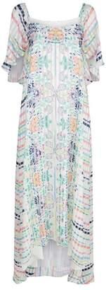 Vilshenko Yasmin Floral Printed Dress