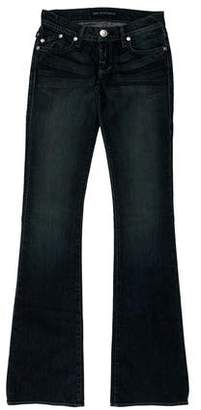 Rock & Republic Low-Rise Wide-Leg Jeans w/ Tags