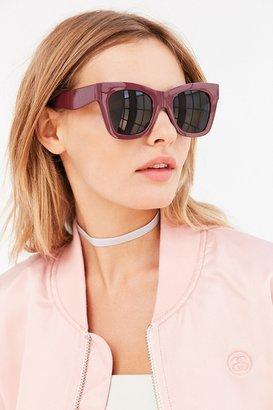 Simone Chunky Square Sunglasses $16 thestylecure.com