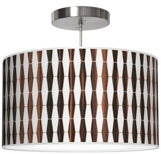 Jefdesigns Jef Designs Weave 1 Drum Pendant Jef Designs