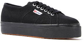 Superga The 2790 Platform Sneaker in Black
