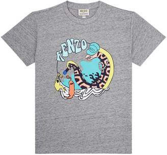 Kenzo Motif Short Sleeved T-Shirt