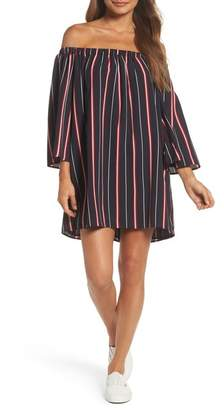 French Connection Hasan Off-the-Shoulder Dress