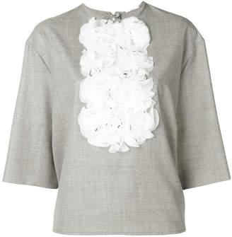 Lardini Tata ruffle trim blouse