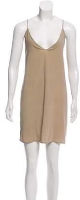 Zero Maria Cornejo Sleeveless Mini Dress