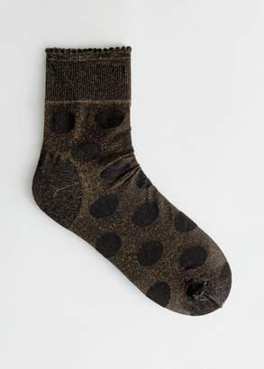 And other stories Glitter Polka Dot Socks
