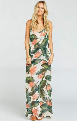 Show Me Your Mumu Jolie Maxi Dress ~ Paradise Found