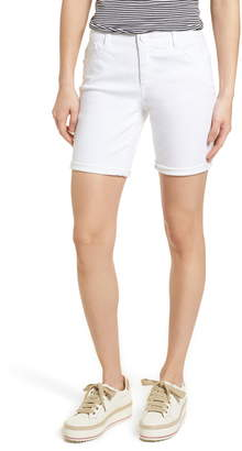 Wit & Wisdom Ab-Solution White Denim Shorts