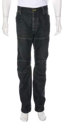 G Star Elwood 5620 Straight-Leg Jeans