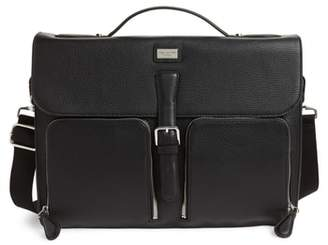 Ted Baker Munch Leather Satchel Briefcase