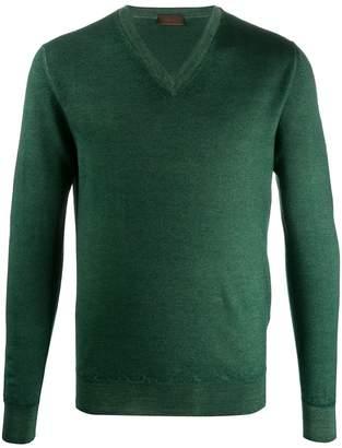 Altea knitted V-neck jumper