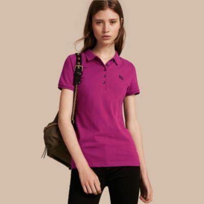 Burberry  Burberry Cotton Piqué Polo Shirt