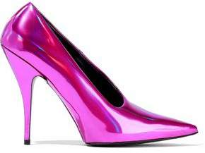 Stella McCartney Iridescent Faux Leather Pumps