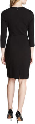 Cynthia Steffe Zoe 3/4-Sleeve Ponte Sheath Dress