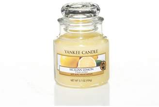 Yankee Candle Small 'Sicilian Lemon' Scented Jar Candle