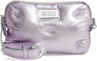 Maison Margiela Glam Slam Metallic Leather Crossbody Bag