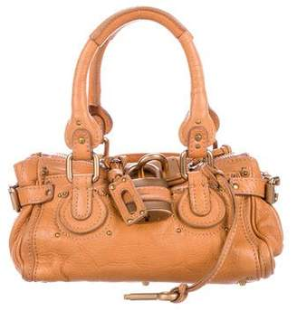 Pre-Owned at TheRealReal · Chloé Leather Mini Paddington Bag 9090b4dd31d64