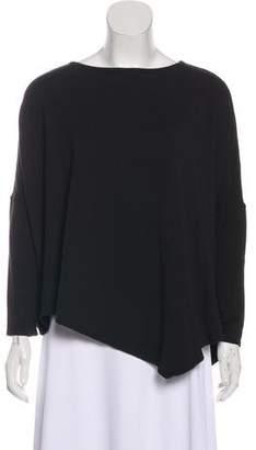 Helmut Lang Villous Oversized Pullover Sweatshirt