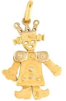 Pomellato 18K Puppet Princess Pendant