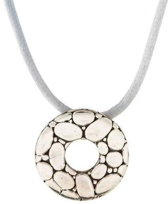 John Hardy Kali Pebble Pendant Necklace