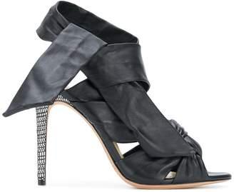 Alexandre Birman Maleah ankle-wrap sandals