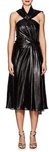 Prabal Gurung Women's Silk-Blend Lamé Cocktail Dress - Black