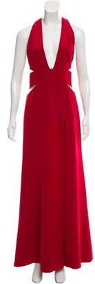 Kaufman Franco KAUFMANFRANCO Sleeveless Evening Gown