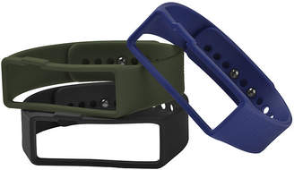 JCPenney NUBAND Nuband Mens 3-pk. Interchangeable Silicone Sport Watch Bands