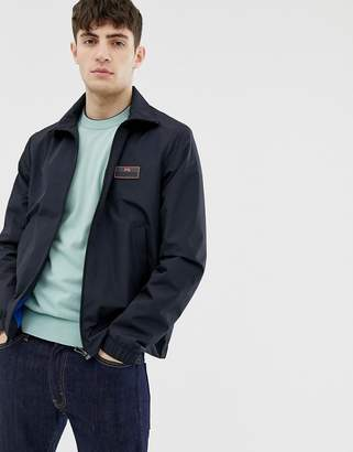 Paul Smith lightweight jacket with contrast logo in navy