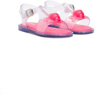 Mini Melissa clear lollipop sandals
