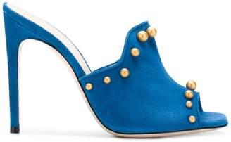 Pollini studded mules