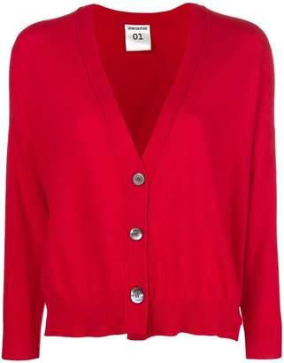 Semi-Couture Semicouture longsleeved loose cardigan
