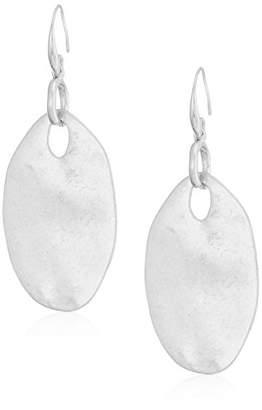 The Sak Women's Large Oval Drop Earrings