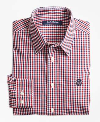 Brooks Brothers (ブルックス ブラザーズ) - BOYS ノンアイロン ブロードクロス GF ミニタッターソール スポーツシャツ