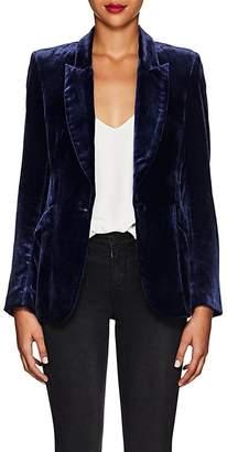 L'Agence Women's Chamberlain Velvet Blazer