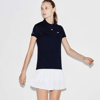 Lacoste Women's SPORT Miami Open Petit Pique Tennis Polo