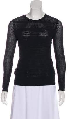 Vince Embroidered Crew Neck Sweater