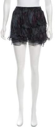 Edun Printed Mini Skirt